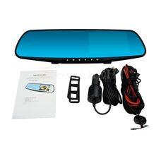 Зеркало заднего вида с 2 камерами Vehicle Blackbox DVR FULL HD 1080P
