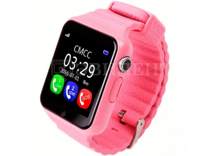 Детские часы Smart Baby Watch V7K с GPS трекером
