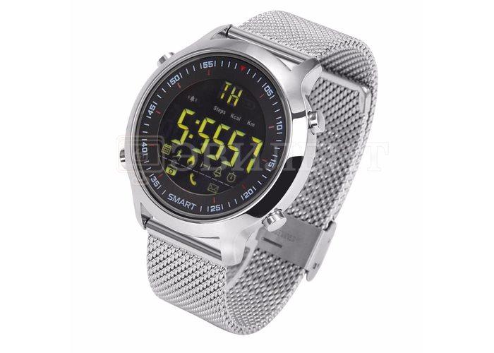 Умные часы Sports Smart Watch EX18 (Стальные)
