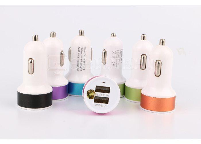 Автомобильное зарядное USB устройство Nokoko