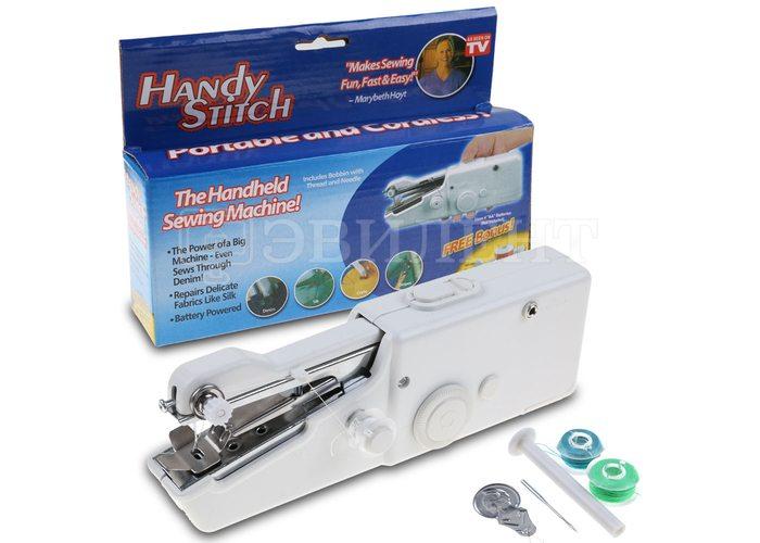 Портативная ручная швейная машинка HANDY STITCH