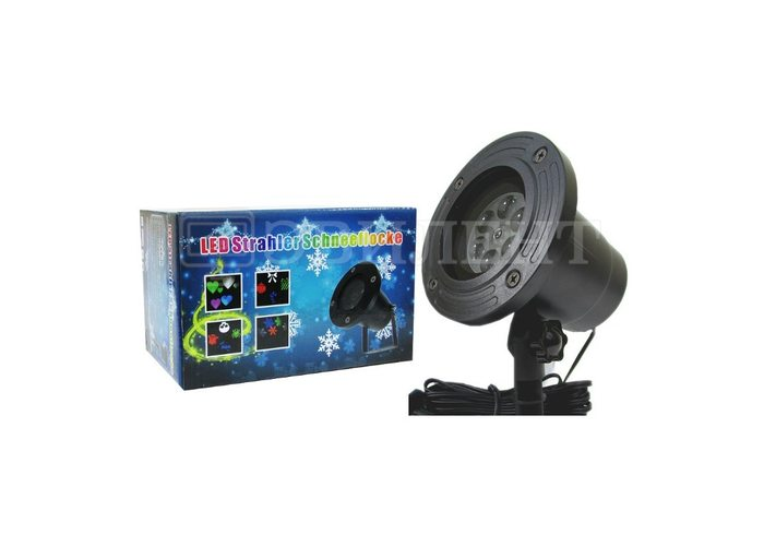 Лазерный проектор LED STRAHLER SCHNEEFLOCKE