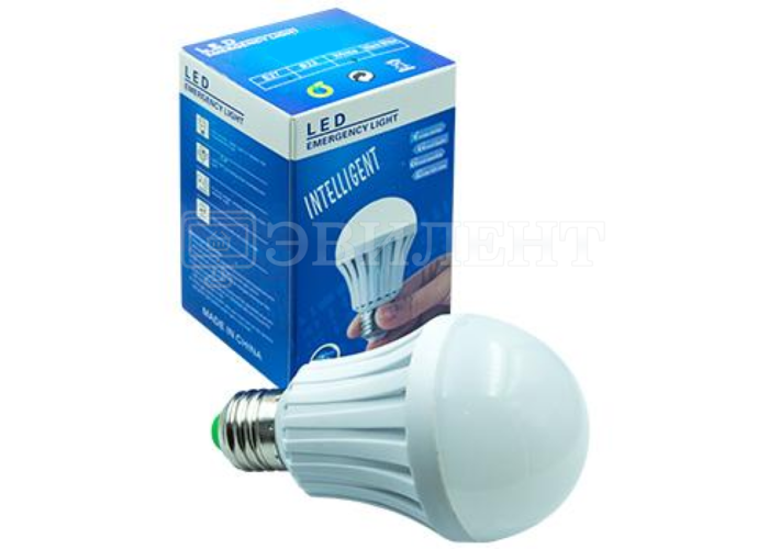 Лампочка INTELLIGENT LED EMERGENCY 9W