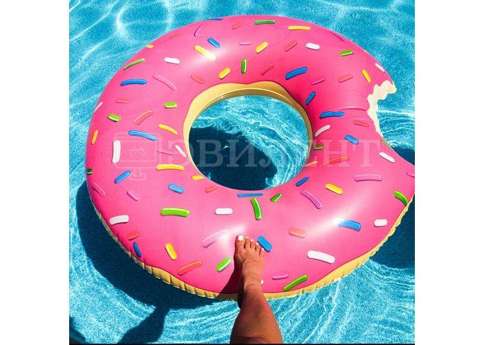 Надувной круг Пончик 120см
